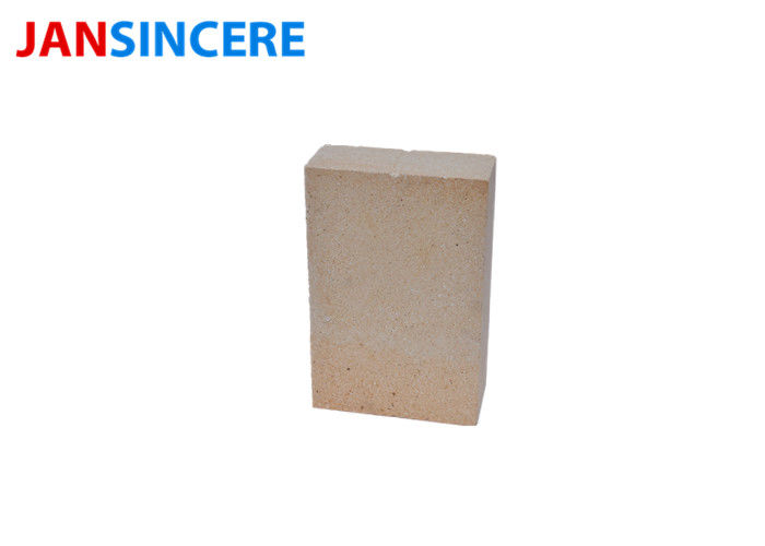 Fire Resistant Kiln Fired Bricks / Low Porosity Corundum Mullite Brick